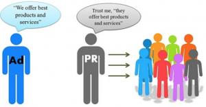 PR ad people